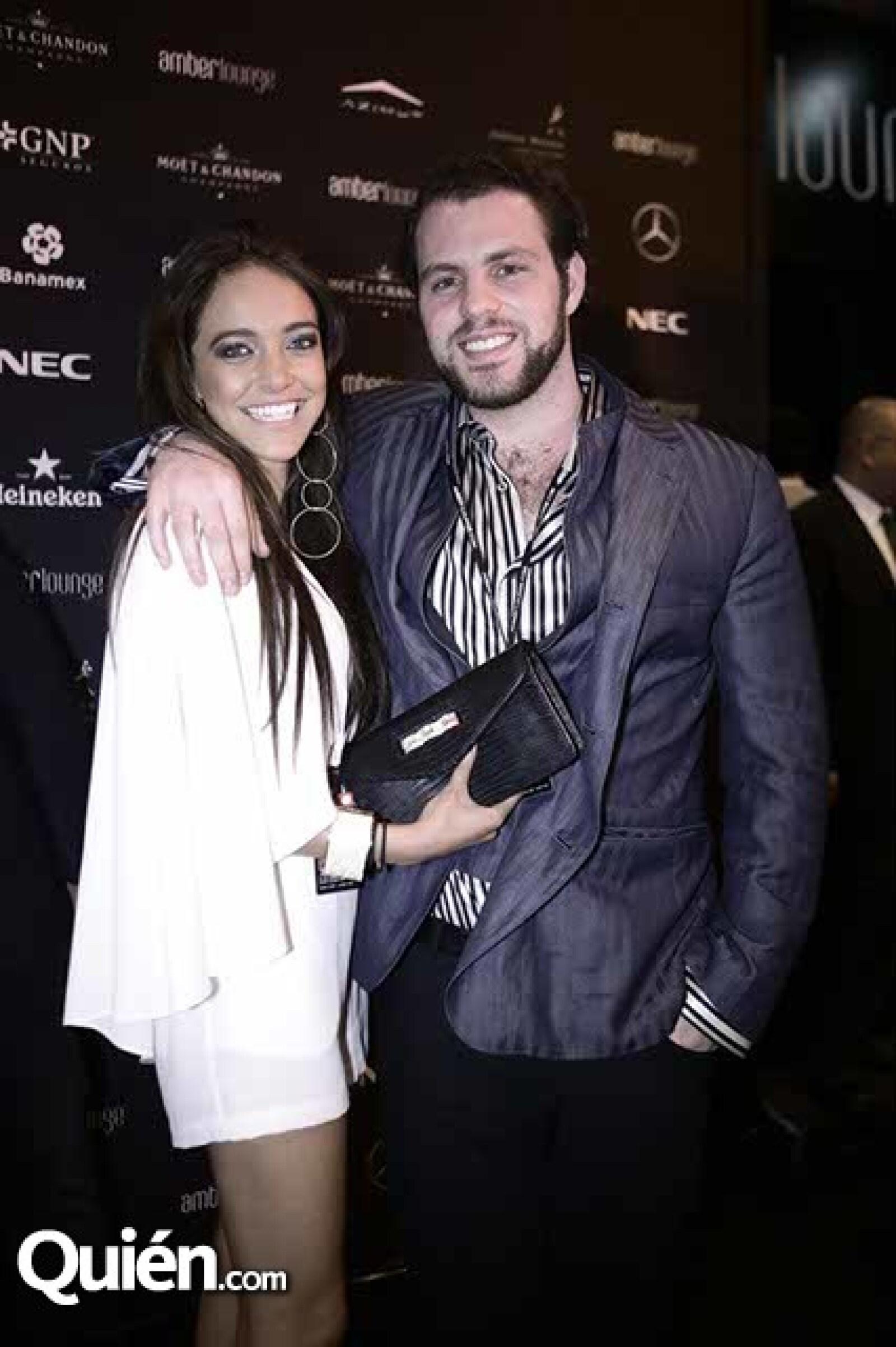Nicolle Esteban y Jorge Karam
