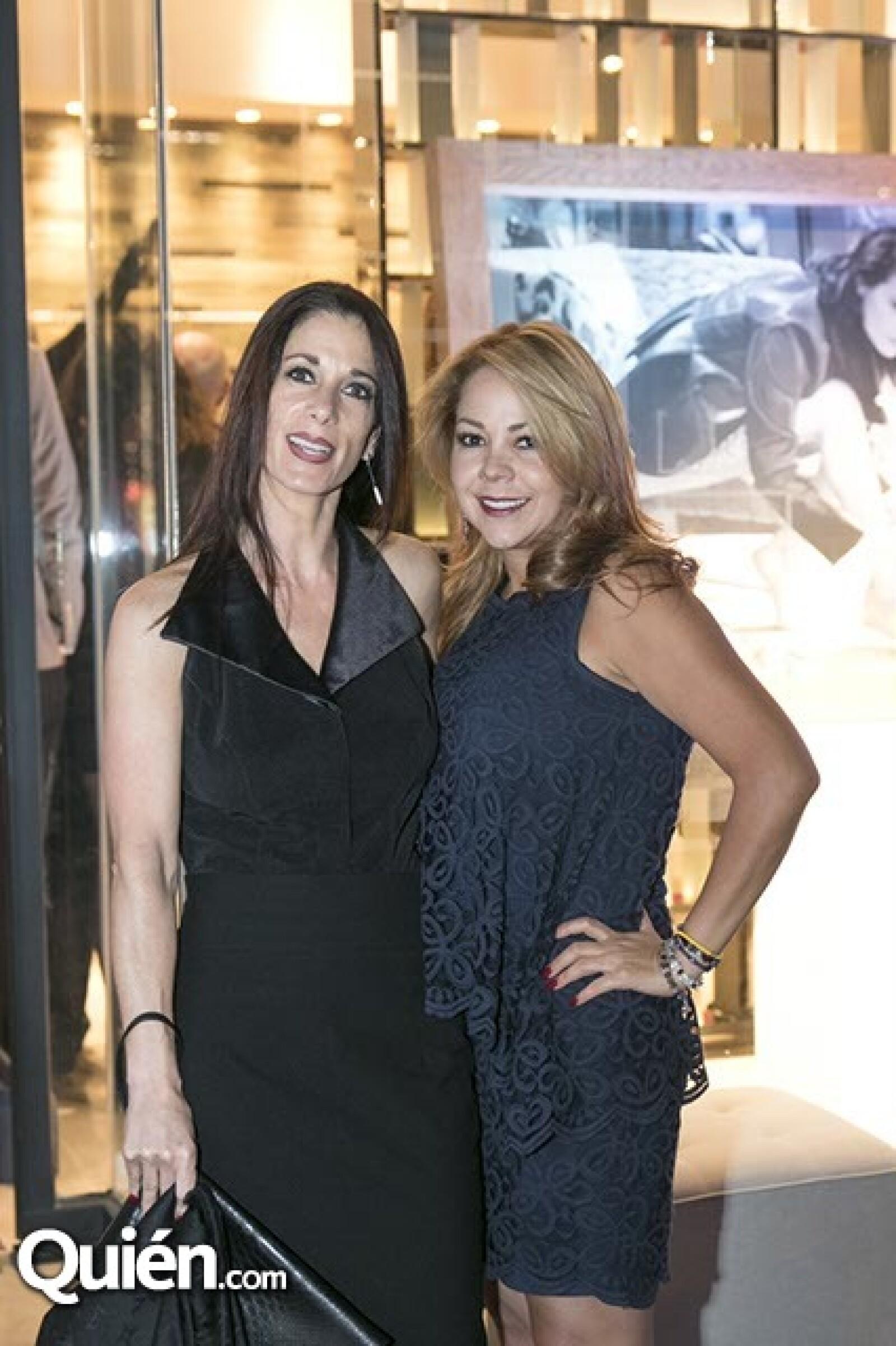 Stephanie Samuel y Adriana Fernández