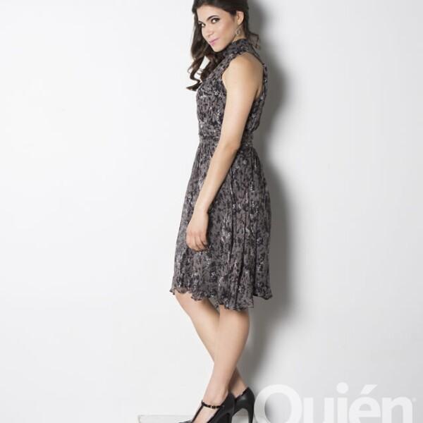 Sofía Espinosa, actriz, guionista y productora. Obtuvo el papel anhelado por muchas: dar vida en el cine a Gloria Trevi.
