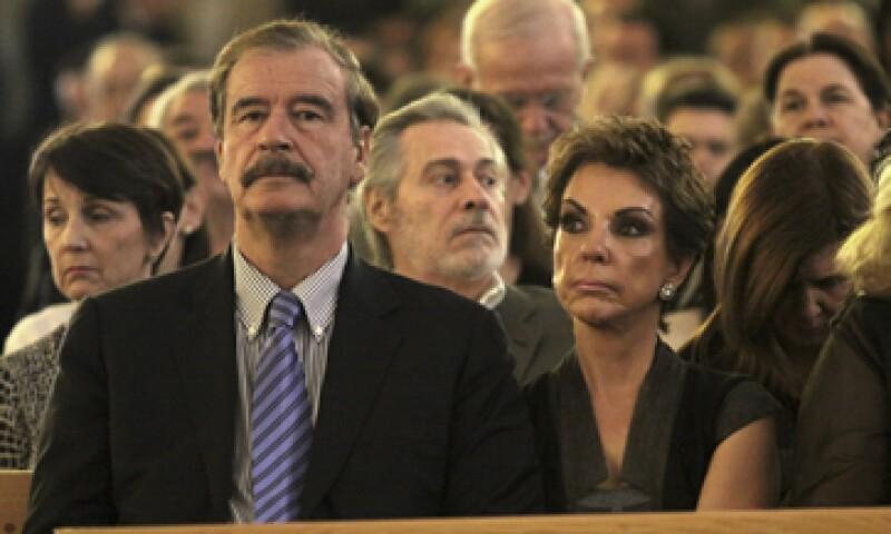 Vicente Fox dijo que escuchó a Zambrano como presidente y expresidente. (Foto: Cuartoscuro)