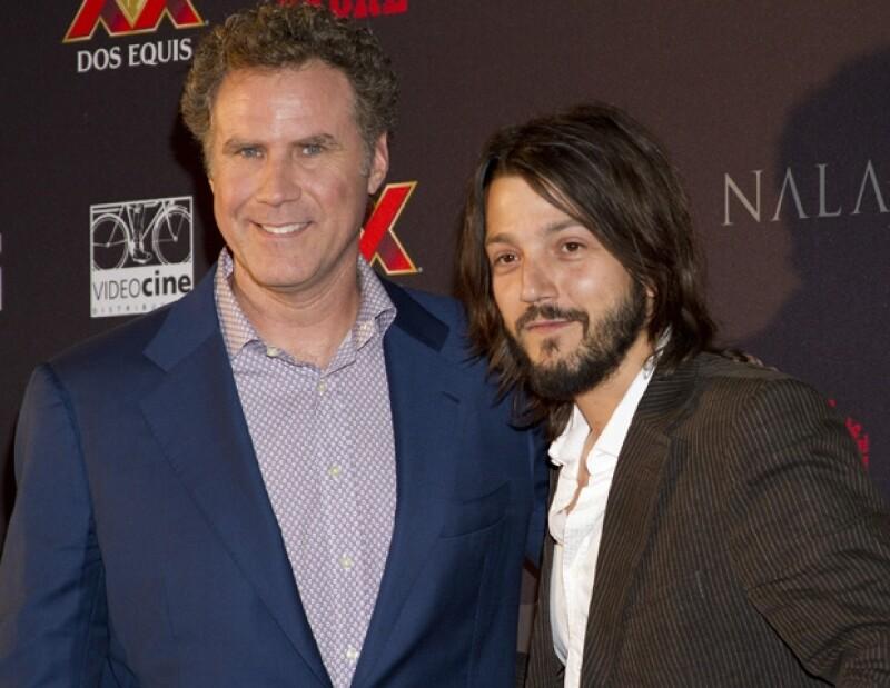 """Will Ferrell hizo amistad con Diego Luna durante el rodaje de la cinta """"Casa de mi Padre""""."""
