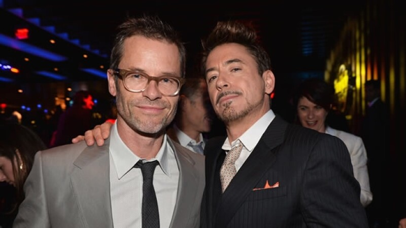 Robert Downey y Guy Pearce