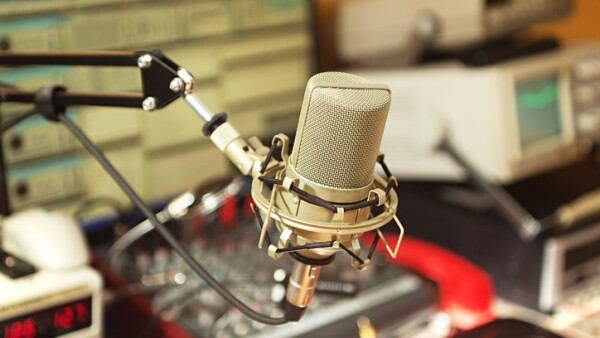 Radio broadcast studio