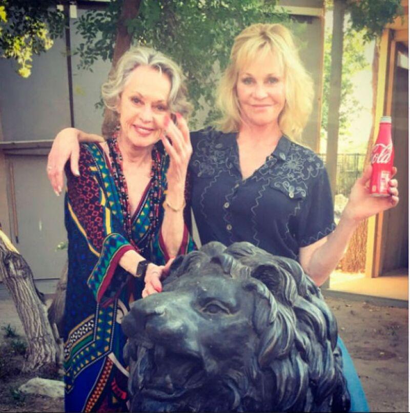 Melanie Griffith y su mamá, como dos gotas de agua.