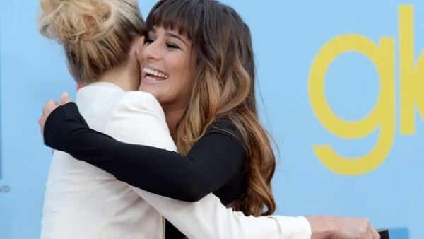 """La actriz de """"Glee"""" comentó en la revista ELLE que fue la histrión de 34 años quien le abrió las puertas de su casa para resguardarse de los paparazzi tras la muerte de su pareja Cory Monteith."""