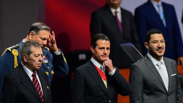 """""""Nunca nadie dijo que ser presidente fuera una tarea fácil"""", afirma Peña Nieto"""