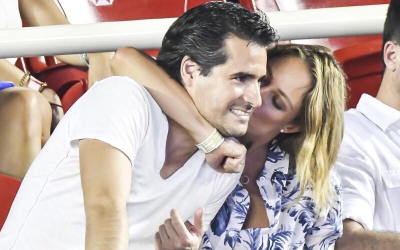 Vanessa Huppenkothen y su novio Ricardo Dueñas