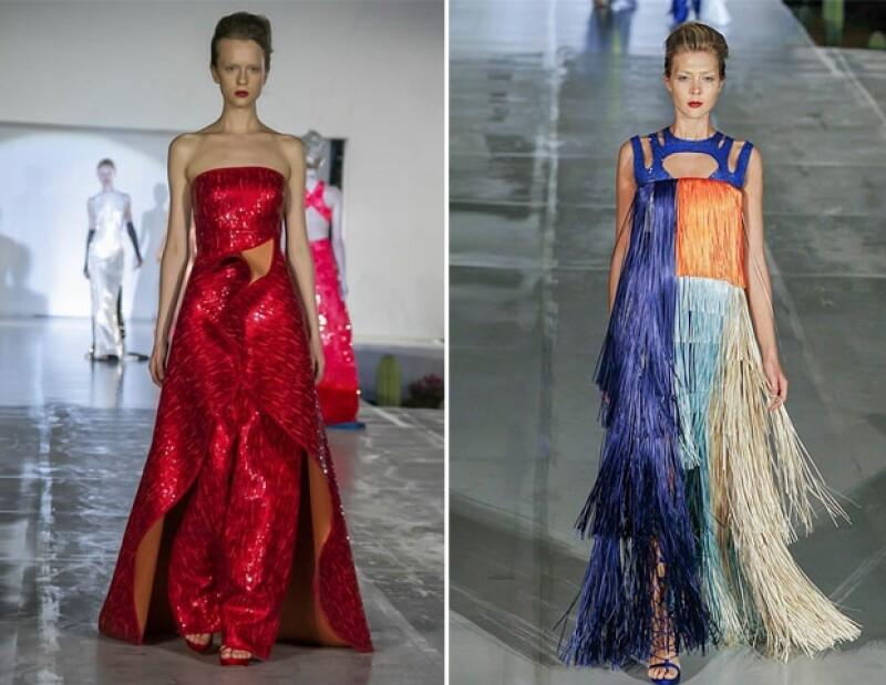 Su colección está inspirada en una mujer cosmopolita.