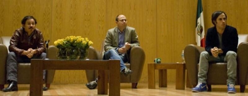 Gael García habló de la importancia que tienen este tipo de proyectos.