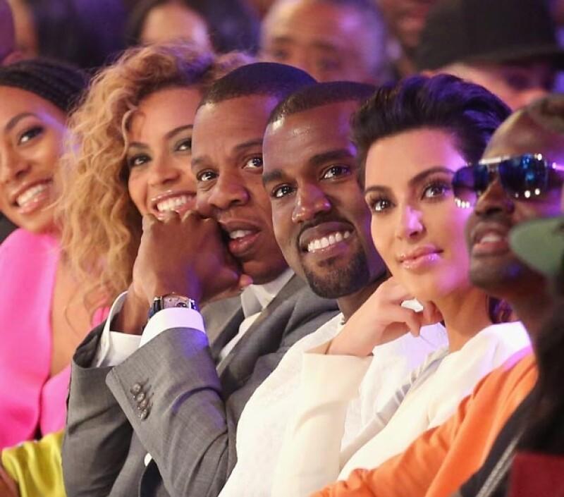 """Una publicación británica reveló lo emocionado que está Kanye West de que sus amigos """"B"""" y """"Jay"""" hayan aceptado la invitación a la lujosa ceremonia que se llevará a cabo en París la próxima semana."""