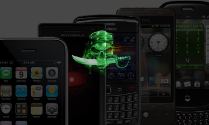 Existen aplicaciones antivirus para proteger de intrusos tu celular, como Kaspersky Mobile Security y NetQin Mobile Security. (Foto: Especial)