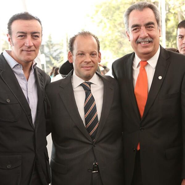 Humberto Navarro, David Korenfeld y Gerardo Magaña