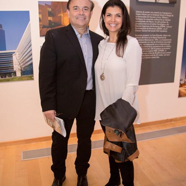 Mauricio Wapinski y Janet de Wapinski