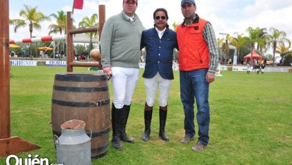 Miguel Madero, Carlos Flores y Jacobo Saaid