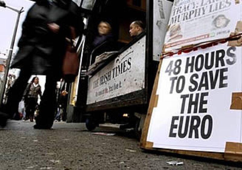 El Gobierno irlandés ha aceptado la ayuda de la Unión Europea.  (Foto: AP)