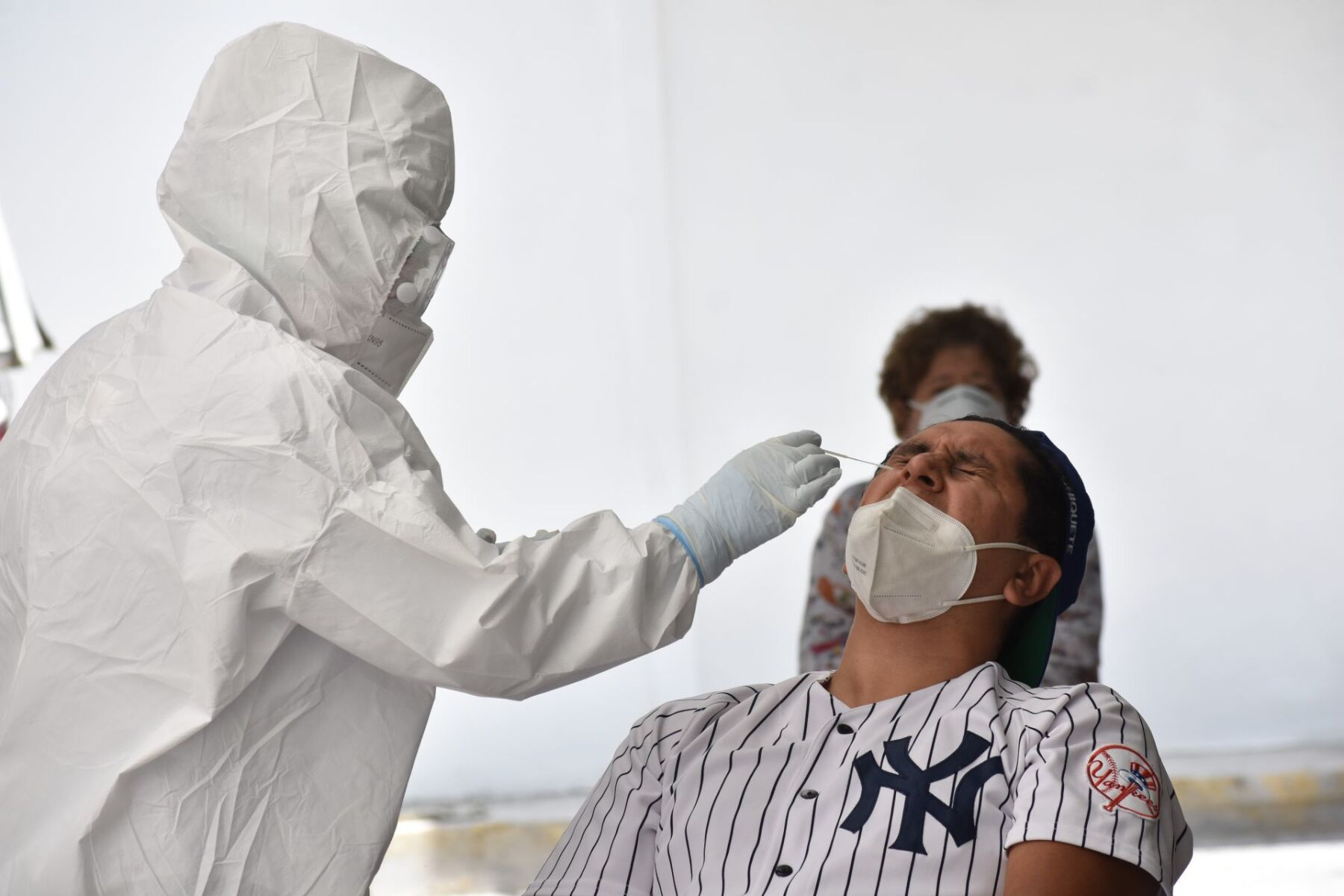 En diferentes puntos se han instalado al menos seis módulos para realizar pruebas para detectar el Covid-19, en personas que tengan la sospecha de tener esta enfermedad.