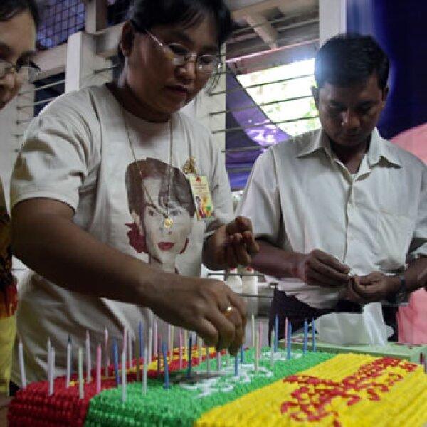pastel en Myanmar