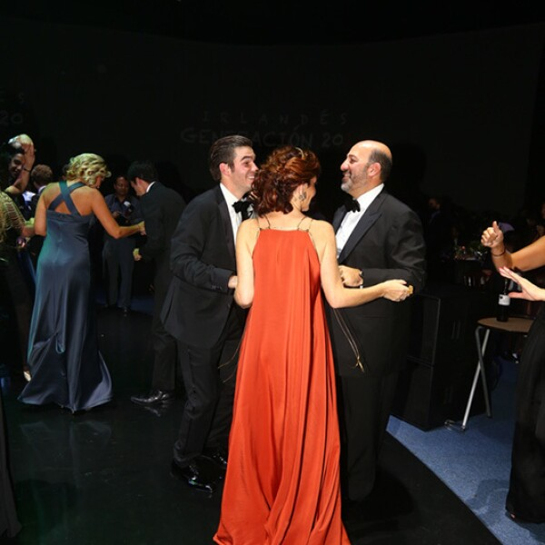 Diego ,María y Patricio Slim