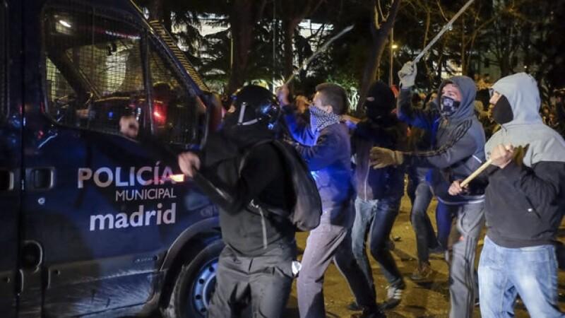 Madrid protestas austeridad