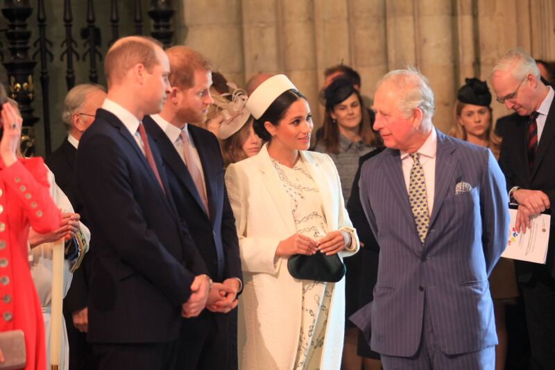 Commonwealth Day service at Westminster Abbey, London, UK - 11 Mar 2019