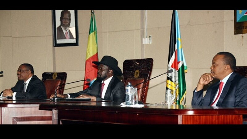 Uhuru Kenyatta Hailemariam Desalegn