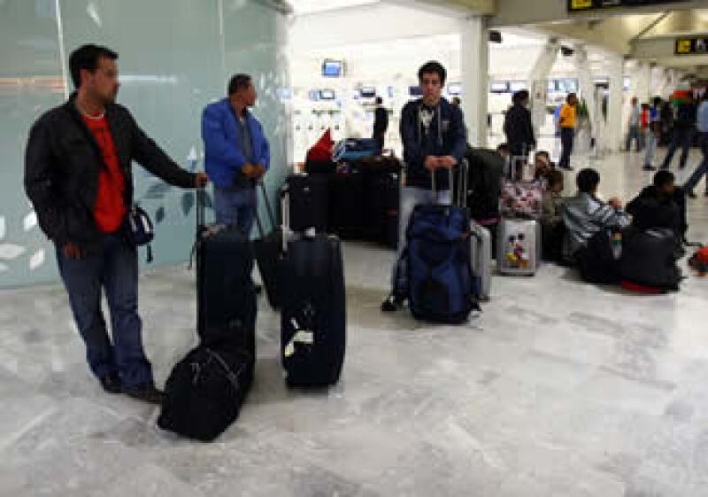 El horario de servicio de los módulos de Profeco es de 6 a 23 horas en el aeropuerto del Distrito Federal. (Foto: Notimex)