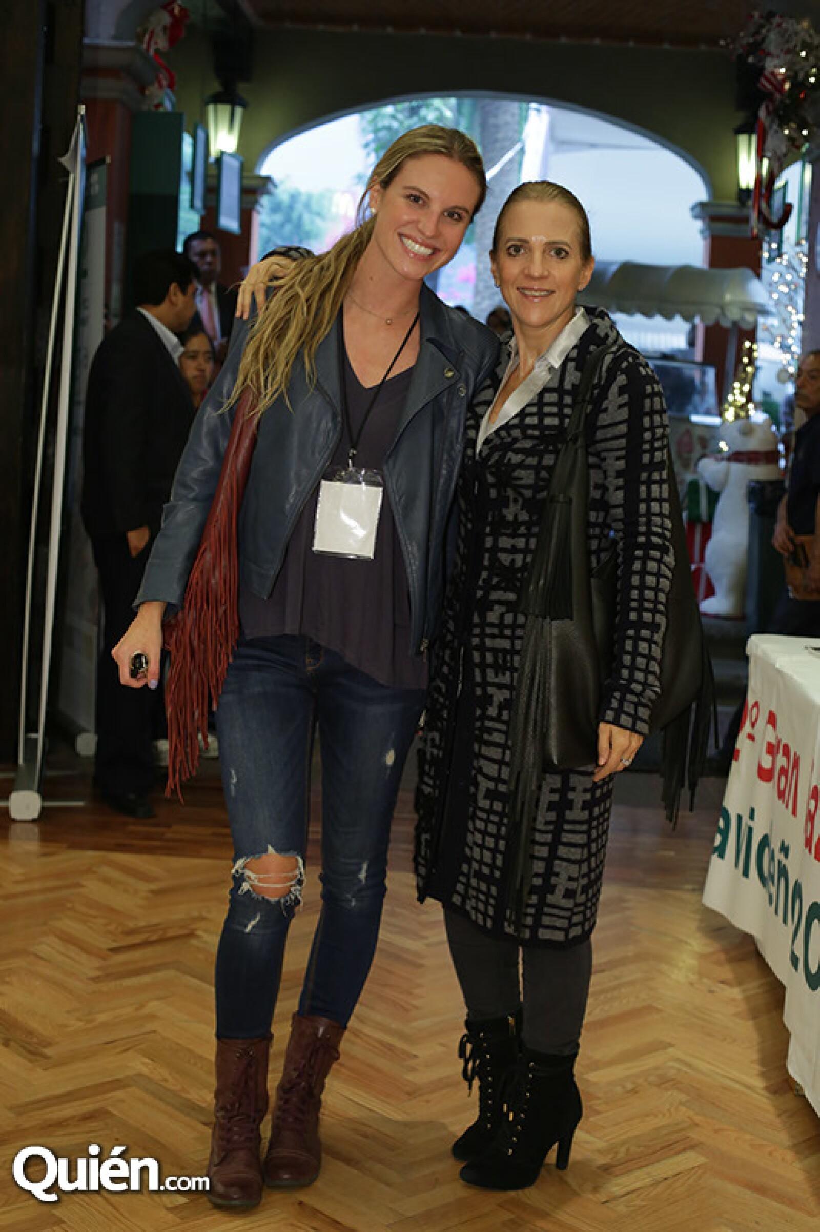 Maite Solana y Lourdes Alverde