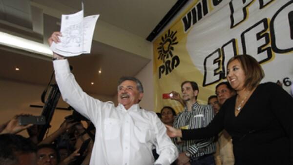 El diputado Estefan Garfias fue electo en una sesión del PRD en la capital oaxaqueña. (Foto: Cuartoscuro )