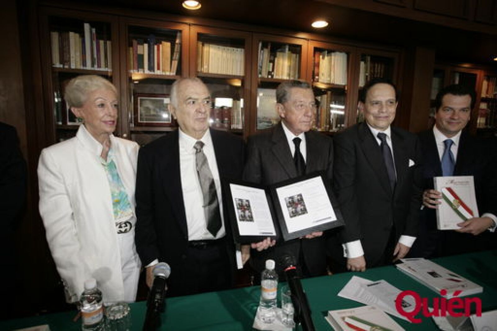 Beatriz Alemán, Miguel de la Madrid, Miguel Alemán Valdés, Jorge Alemán Valdés, Miguel Alemán Magnani