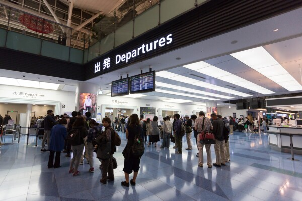 aeropuerto Tokio
