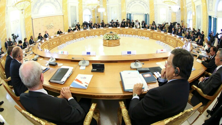 El G20 está compuesto por 19 países y la Unión Europea, entre los cuales se encuentran México, Estados Unidos, Canadá, China, Alemania, Brasil, entre otros.