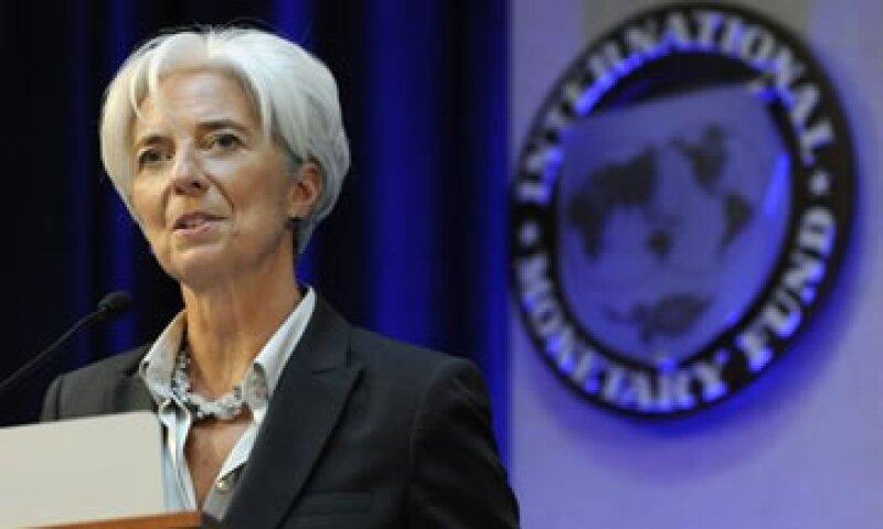 Lagarde agregó que el BCE tiene espacio para maniobrar con las tasas de interés. (Foto: Reuters)