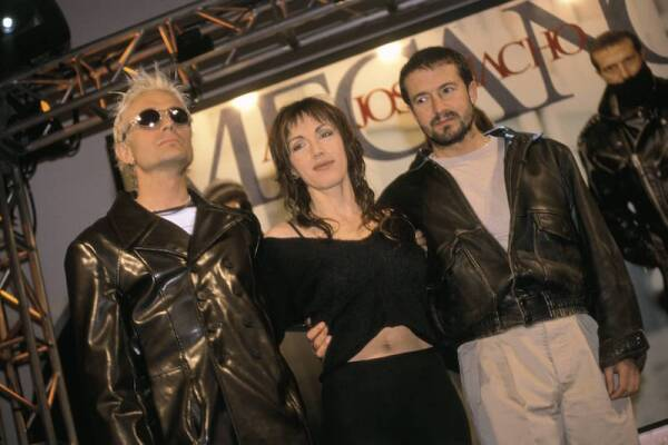 The musical group Mecano presents their long play