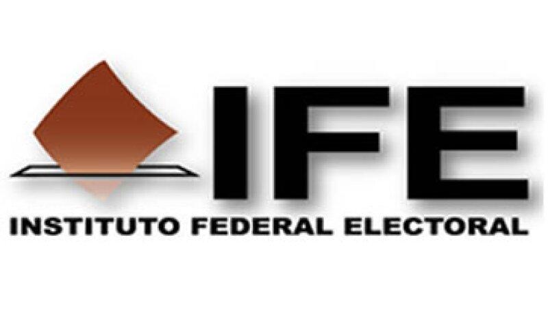 PAN, PRD, PT y Movimiento Ciudadano fueron multados por el Instituto Federal Electoral. (Foto toma del sitio IFE.org.mx)
