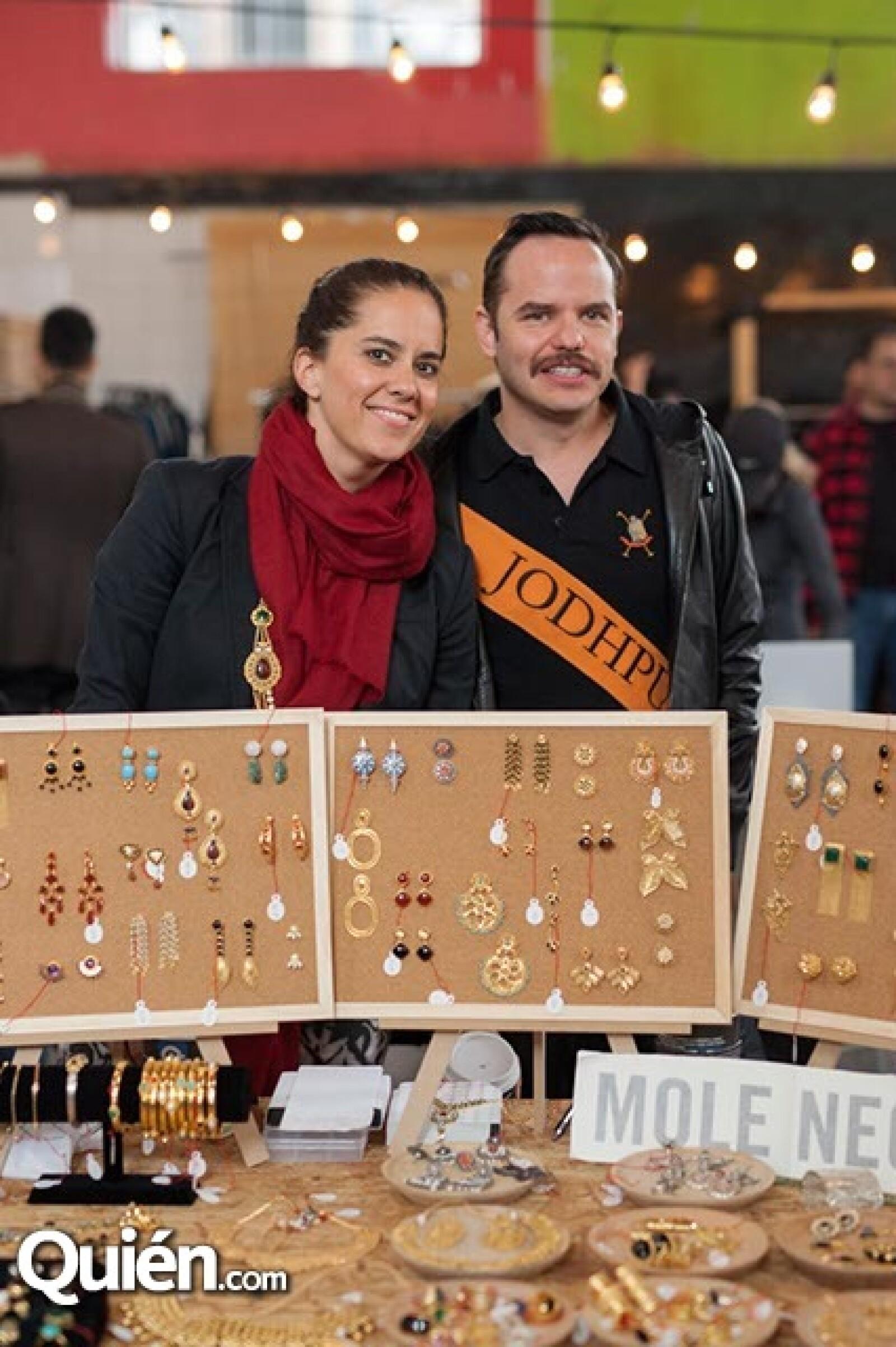 Claudia López y Carlos Carbajal