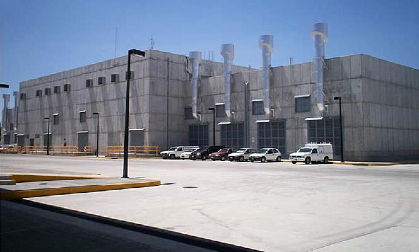 El centro de datos fue construido donde antiguamente habían talleres de ferrocarriles y fundidoras de hierro.