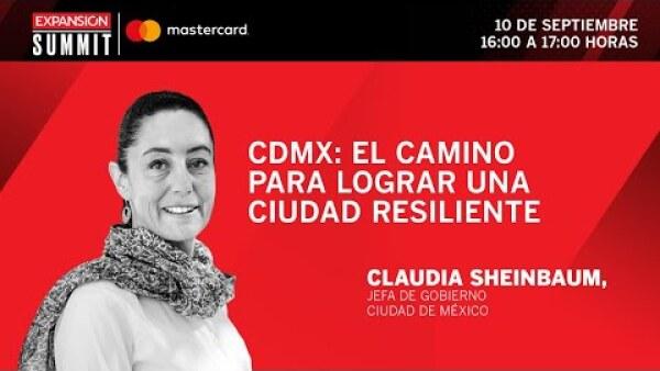 CDMX: el camino para lograr una ciudad resiliente | Expansión Summit 2020