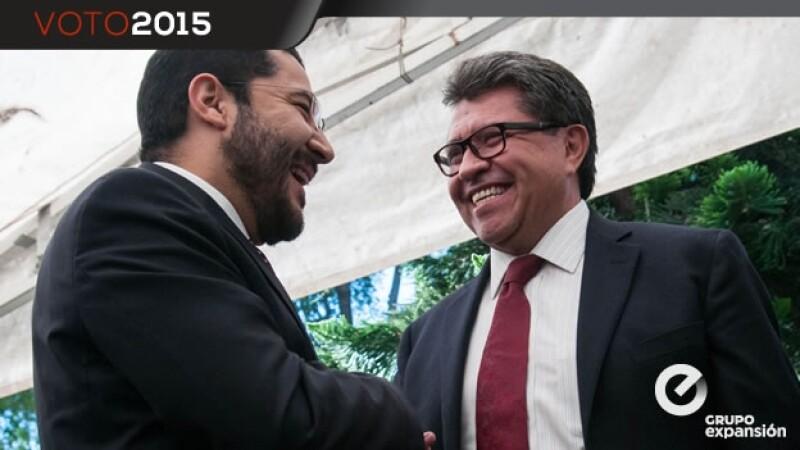 Registro de candidatos de Morena ante el IEDF