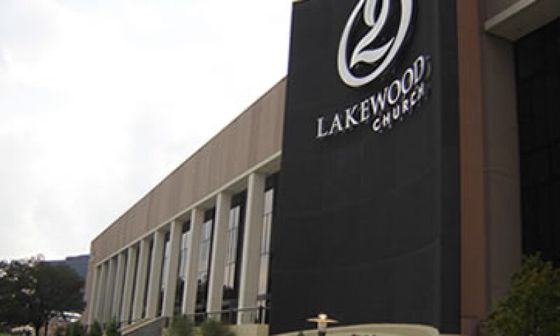 Lakewood Church es la mayor iglesia de EU con más de 40,000 asistentes. (Foto: Getty Images)