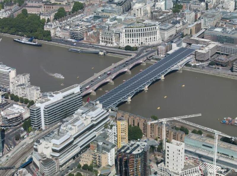 Puente solar m�s grande