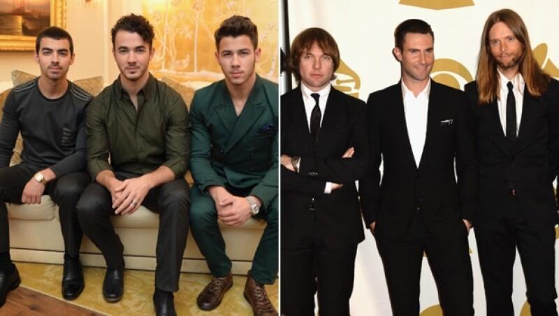 Jonas Brothers y Maroon 5