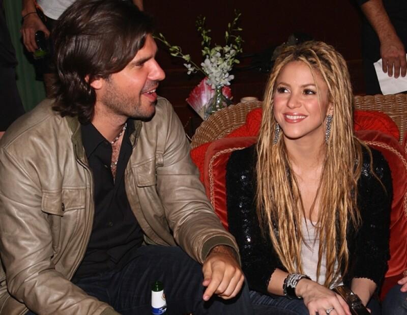 Shakira y Antonio de la Rúa mantuvieron un noviazgo de 11 años y se quedaron cerca del altar.