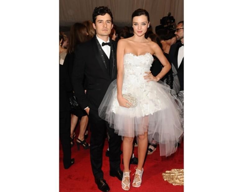 Miranda y Orlando son una pareja con mucho estilo.