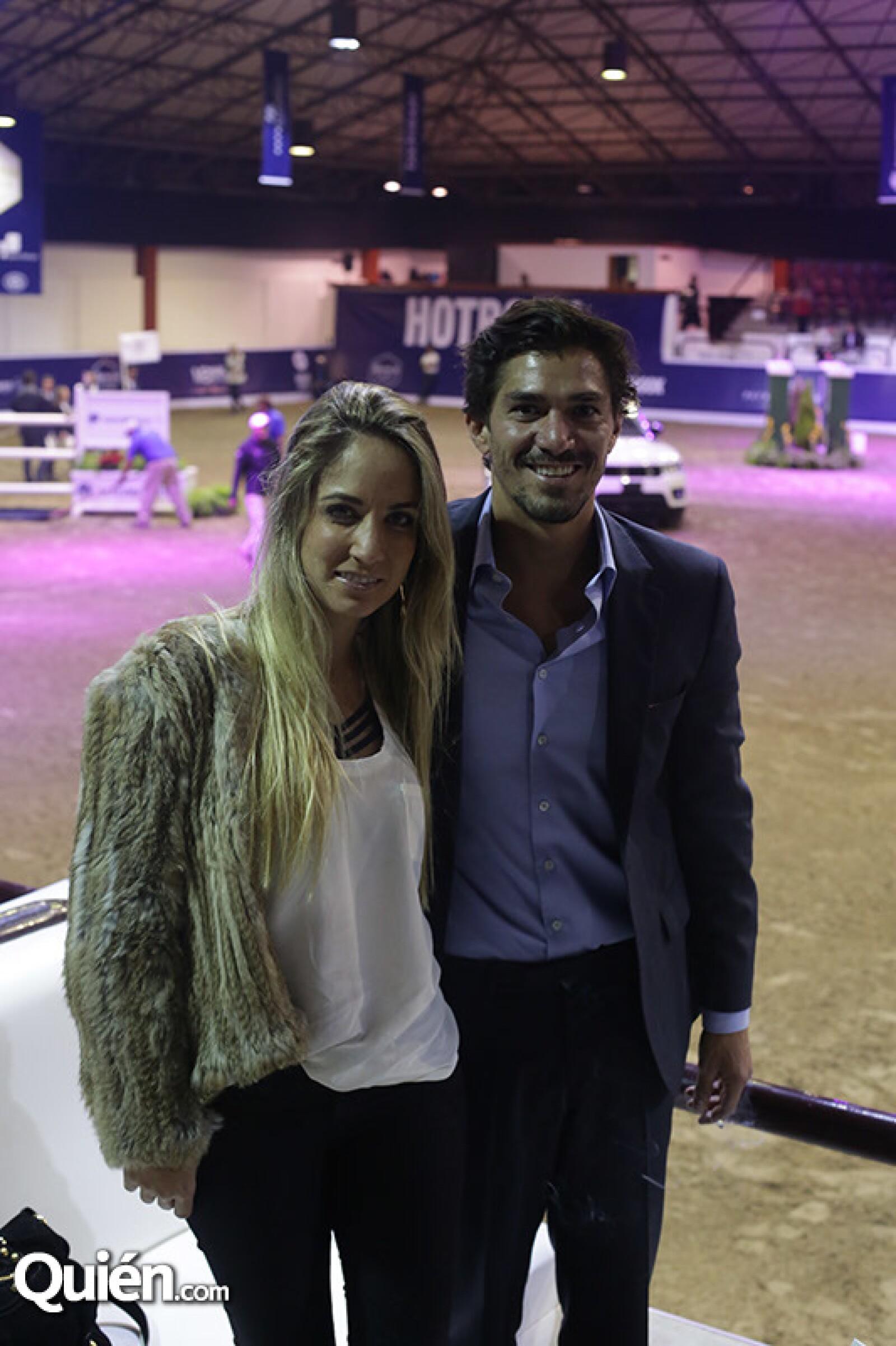 Paula Arango y Saúl Moreno