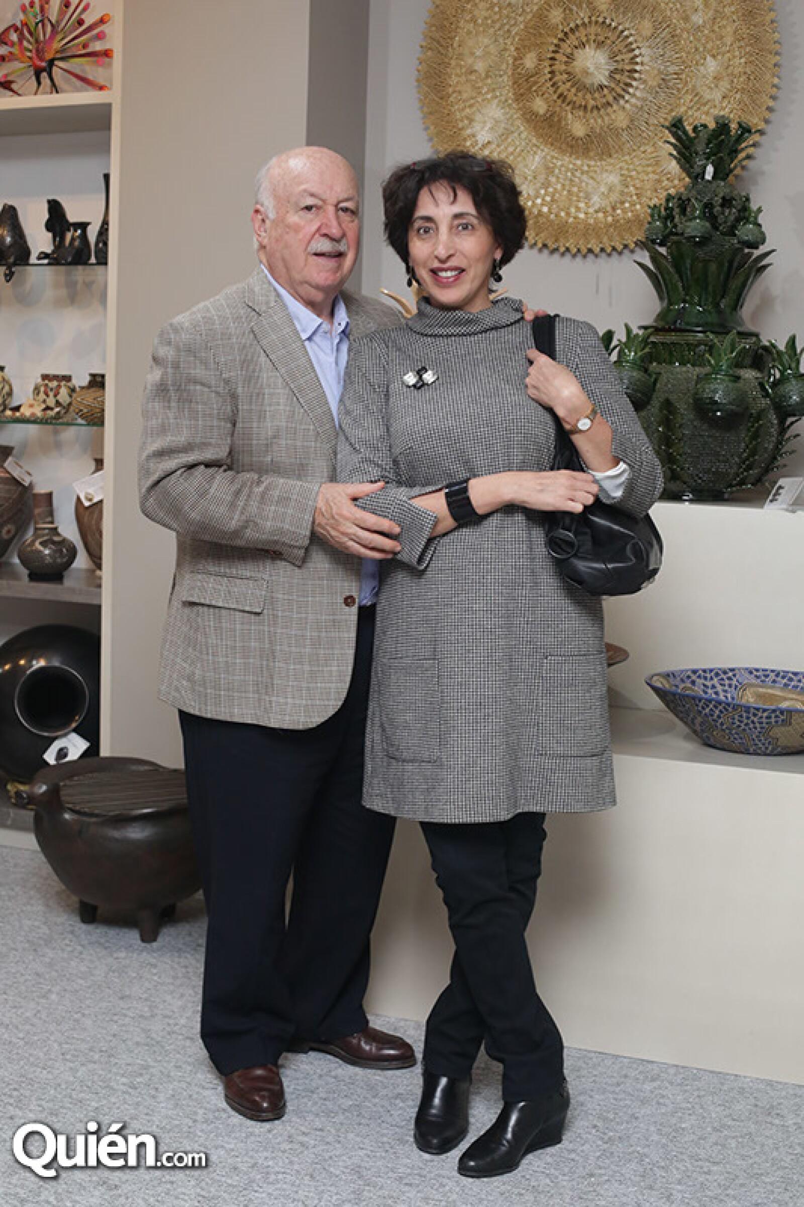 Bruno Newmann y Patricia Agraz