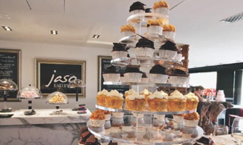 La repostería con chocolate es la especialidad de Jaso Bakery, aunque también hace gala de alimentos con una diversa cantidad de frutas. (Foto: Israel Pérez)