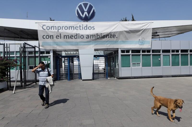 Planta de Volkswagen en Puebla