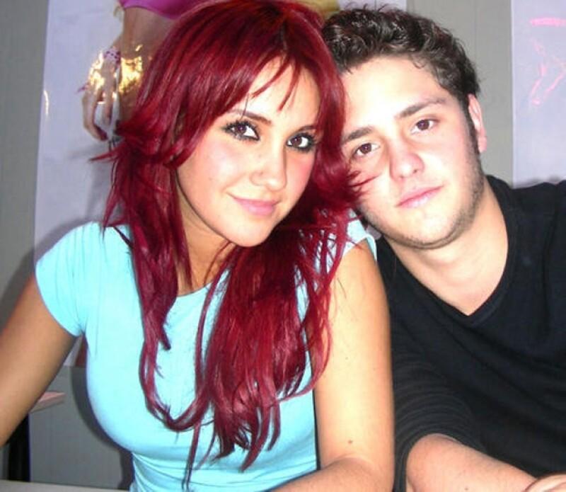 Él y Dulce María sólo tuvieron algo que ver en sus personajes de la exitosa telenovela de Televisa.