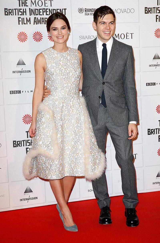 La actriz y el músico contrajeron nupcias en 2013 en una boda estilo rockstar.