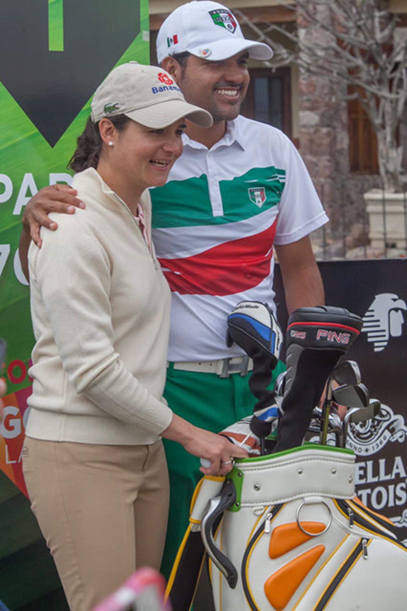 Lorena Ochoa,Oscar Serna